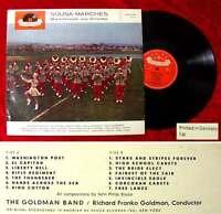 LP Goldman Band: Sousa Marches - Märsche aus Amerika (Polydor 46 338) D 1960