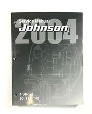 2004 Johnson Service Manual SR 4 Stroke 90 115 140 HP Outboard Motor 5005661