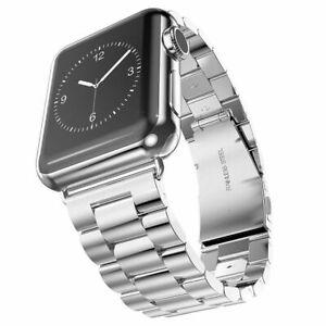 EDELSTAHL Armband für Apple Watch Series 1 2 3 4 5 6 SE Strap Loop Band iWatch