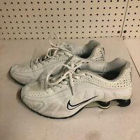 Nike Shox Deliver Men 104265 001 White White Athletic Running Shoes Size 9.5 US