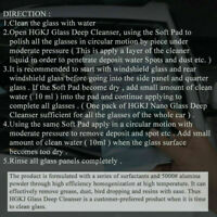 All-Purpose GLASS MARKS REMOVER Cleaner Car polishing H6Q0 V Hot. R6W4 D0F8