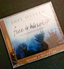 Joel Osteen Free To Worship CD Songs To Improve Your Life Every Day Brand New