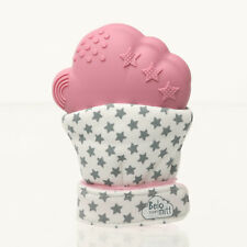 Belo dentición Mitt | guante rosa para bebé 3+ meses-Reino Unido Reino Unido + diseño probado