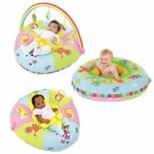 Baby 3-in-1 Double-sided Playnest Rainbow Gym With 3 Toys Kids Floor Fun Game