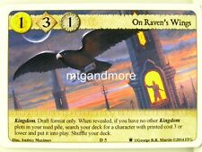 A Game of Thrones LCG - 1x On Raven's Wings  #D005 - Westeros Draft Pack