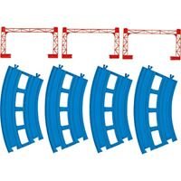 Plarail double-track curve rail (4 pieces) R-05