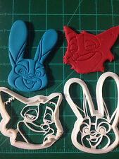 Zootopia Judy Hopps and Nick Wilde Cookie Cutter
