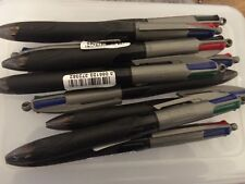 Bic Multi Pen Retractable BLACK RED BLUE GREEN Pen Stationary *CHEAPEST ON EBAY*