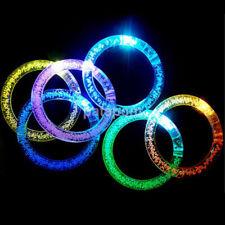 Glow Luminous LED Light Up Bracelet Wristband Dancing Party Flashing Bangle AU