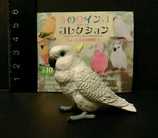 Shine (Like Kaiyodo) Sulphur Crested Cockatoo Cockatiel Parrot Bird Figure A