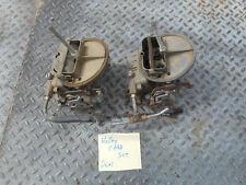 Holley Dual Carburetors Two Barrel carbs carburetor carb Mercedes Benz W111 W108