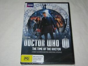 Doctor Who - The Time Of The Doctor - BBC - Brand New & Sealed - Region 4 - DVD