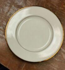 Homer Laughlin Georgian Eggshell Viceroy China Bread & Butter Plate Gold Lot/6