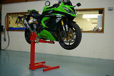 Motorcycle lift, Motorbike stand, Eazyrizer Original Red, Guaranteed for Life!