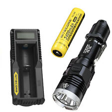 Nitecore P16 Tac 1000 Lumens Flashlight  w/3400mAh Battery & UM10 Charger