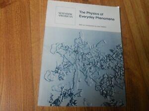 THE PHYSICS OF EVERYDAY PHENOMENA  1979  SC