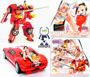 Transformers Takara Kiss Player Hot Rodimus (red Ford GT) aka Hodrod MIB