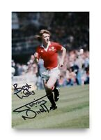 Jimmy Nicholl Signed 6x4 Photo Manchester United Northern Ireland Autograph +COA