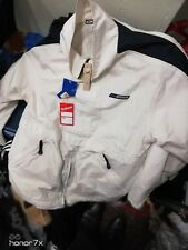 REEBOK COATS ATHELECTIC DEPARTMENT IN 40/42 INCH POP OVER COAT AT £20 CREAM