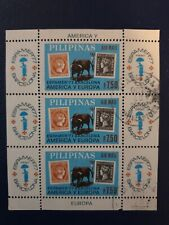 More details for philippines 1977 air espamer 77 international stamp exhibition sheet cto