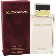 Dolce & Gabbana Pour Femme 100ml/ 3.3oz EDP Spray Perfume Sealed Free Shipping