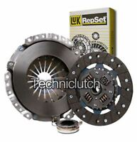LUK 3 PART CLUTCH KIT FOR TOYOTA COROLLA LIFTBACK HATCHBACK 1.6