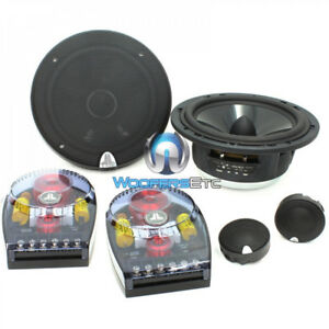 "JL AUDIO C3-600 6"" CONVERTIBLE 225W COMPONENT TWEETERS SPEAKERS CROSSOVERS NEW"