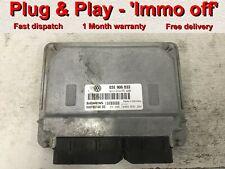 SEAT IBIZA 1.2 03E906033P AZQ SIEMENS ECU IMMO DELETED IMMOBILISER OFF PLUG/&PLAY