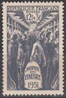 FRANCE  TIMBRE NEUF N° 879 *  INTERIEUR D UN WAGON POSTE