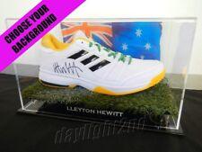 ✺Signed✺ LLEYTON HEWITT Adidas Tennis Shoe PROOF COA Australian Open 2018