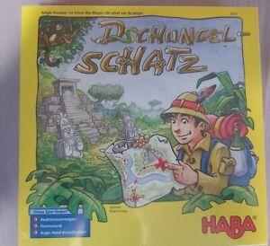 HABA Spiel Dschungelschatz  4355 2-4 Spieler 6-99 Jahre Neu OVP ungeöffnet