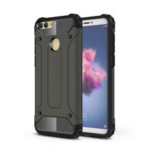 Armor Outdoor Handy Case f Huawei P Smart Panzer Hülle Etui Cover Schwarz