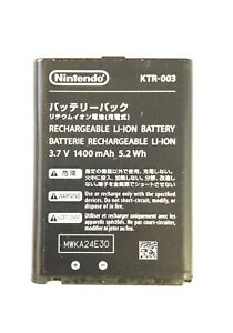 KTR-003 1400mAh 5.2Wh Rechargeable Battery for New Nintendo 3DS N3DS
