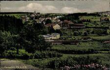 Postcard Ak Hermeskeil Lohmer Cityscape Panorama Unused Colour Printing