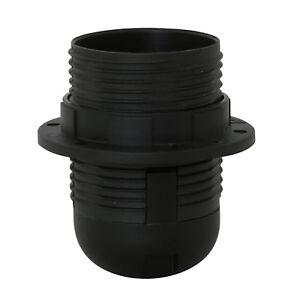 Plastic lamp holder E27 (ES bulb holder)