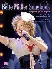 The Bette Midler Songbook Original Keys for Singers Sheet Music Vocal  000307067