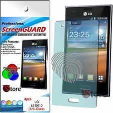 4 Pellicola Opaca Per LG Optimus L5 E610 Antiriflesso Antimpronta Pellicole
