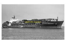 mc2237 - German Container Ship - Ville D'Aquila , built 1993 - photo 6x4