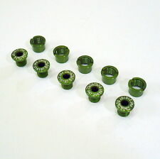gobike88 KCNC Crank Bolts, Al 7075, Green, for Shimano and SRAM, A66
