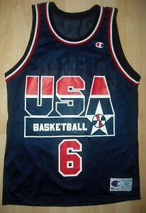 VTG 90's DREAM TEAM USA CHAMPION JERSEY DERRICK COLEMAN EUC Men's SIZE 40
