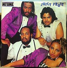 MTUME juicy fruit LP Mint- 25·3P-454 Honk Kong Press 1983 Record w/Insert