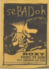 "SEBADOH  Rare 1996 UK Only 7"" OOP P/C Single +  Bonus Aust Gig Flyer ""Beauty"""