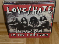 "LOVE / HATE black out in the red room 7"" Single"