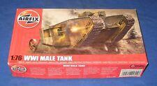 Airfix WW1 Male Tank 1/76 Scale Model Kit