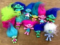 Troll Doll Poppy and her Friends 12pcs BIN