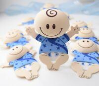 10 X BABIES BLUE BABY SHOWER PARTY FAVORS RECUERDOS AZUL NINO BEBE DECORATION FO