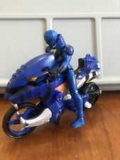 Power Rangers Jungle Fury Blue Striker Rider Action Figure Bandai