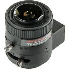Security Camera 3 Megapixel MP Lens, 3~10.5mm Auto Iris, IR-corrected, CS mount