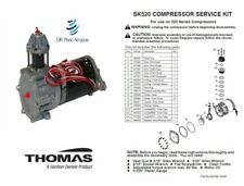 Thomas Industries Oil Less Recovery Compressor Piston Cup Part# 624281