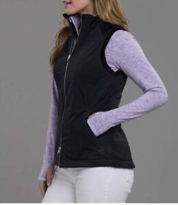 Zero Restriction Ladies Everly Vest Large Black. Thermore